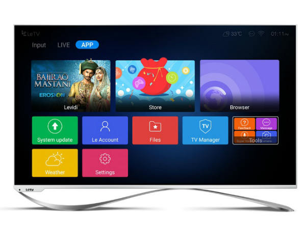 LeEco Super3 TVs create a new milestone in Indian TV Industry