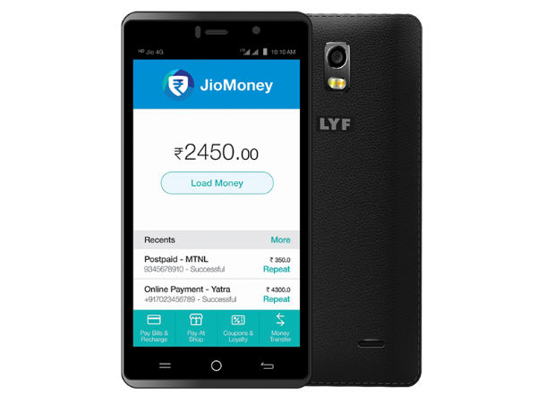 8 Things to Know About Reliance Jio 4G Lyf Water 10 Smartphone Launch