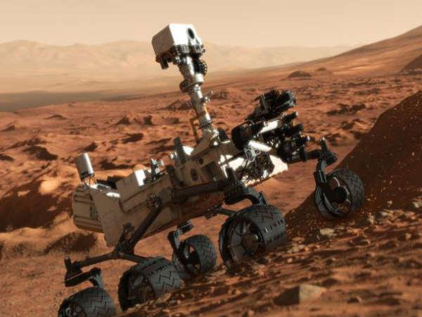 This game takes you through rough Martian terrain
