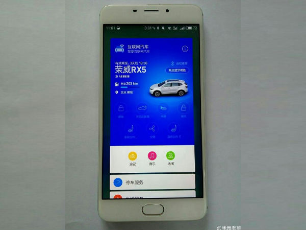 Meizu's Upcoming Blue Charm E Smartphone will Control your Car