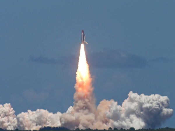 NASA releases rocket booster test slow-motion video