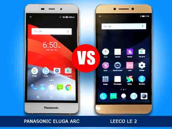 Panasonic Eluga Arc 2 vs LeEco Le 2: A Mid-Range Smartphone War
