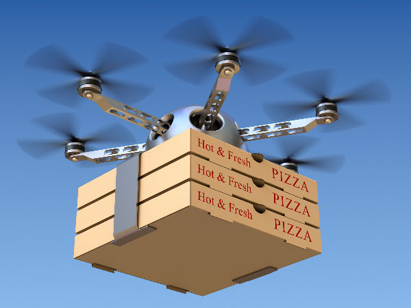 New Zealand To Launch Pizza Drone Delivery Service
