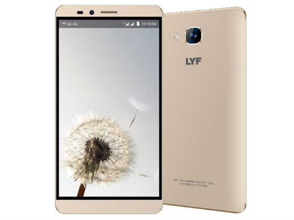 Reliance Digital LYF Wind 2 4G VoLTE smartphone launched for Rs. 8,299