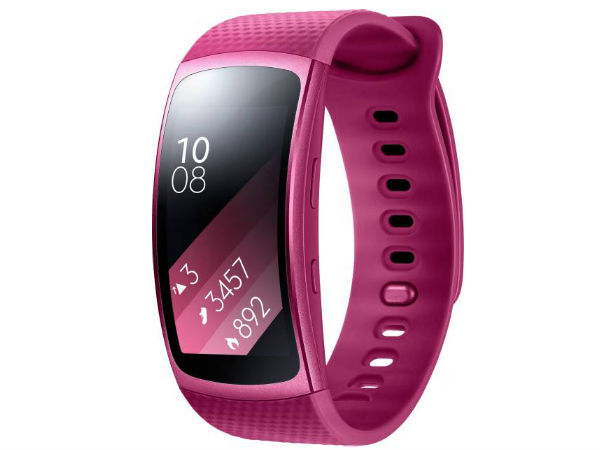 Samsung Launches Gear Fit 2, Gear IconX Starting From Rs. 13,490