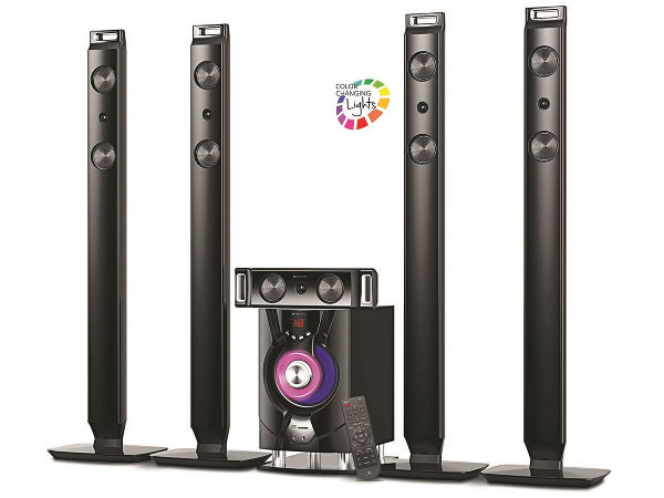 Zebronics Launched 5.1 Tower Speaker at Rs 21,211