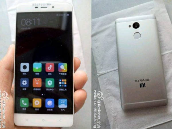 Xiaomi Redmi 4 Live Images Leaked Online [REPORT]