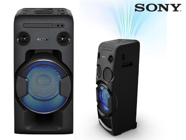 Sony launches two portable high-power audio systems