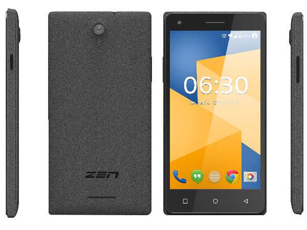 Zen Mobile Launches Cinemax 3 Budget Smartphone
