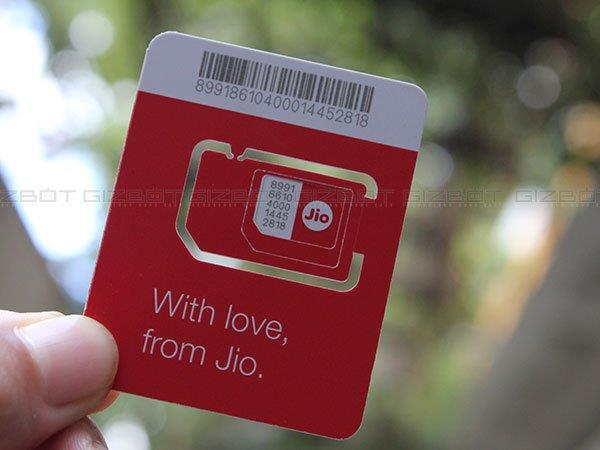 A Reliance Jio SIM is needed