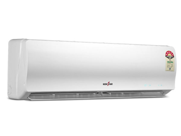 13% off on Kenstar KSM55.WN1 Split AC (1.5 Ton, 5 Star Rating, White)