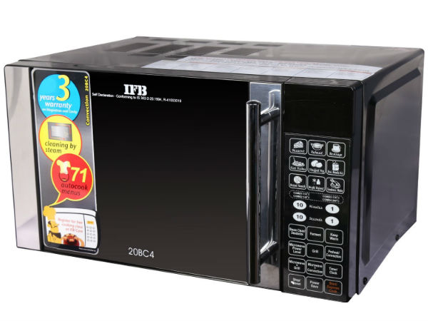 27% off on IFB 20BC4 20-Litre Convection Microwave Oven (Black)