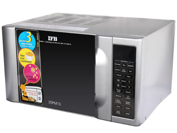 17% off on IFB 20PM1S 20-Litre 1200-Watt Solo Microwave Oven
