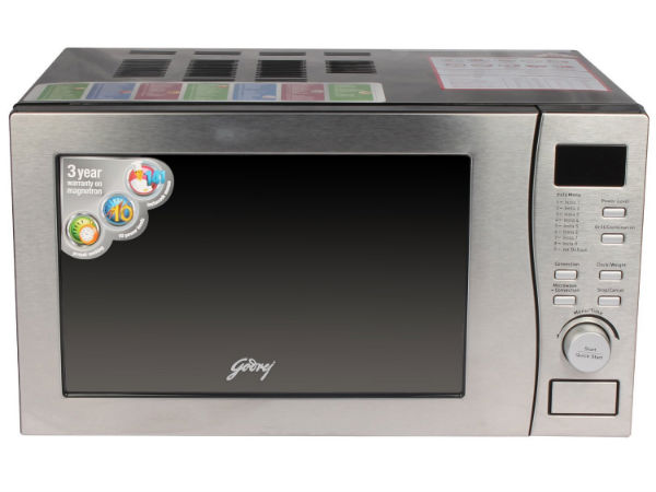 27% on Godrej GMX20CA5MLZ 20-Litre 2200-Watt Convection Microwave Oven