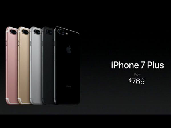 iPhone 7 Pricing and Availability