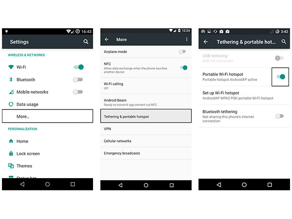 7 Simple steps to set up a Wi-Fi Hotspot on Lyf smartphones