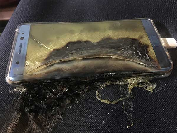 Battery explode incidents hit the normal life