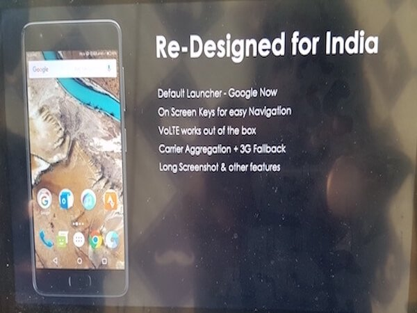 Yes, it has been redesigned for India