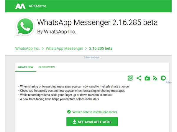 WhatsApp Guide: 4 Steps to Install the Latest Version of WhatsApp APK