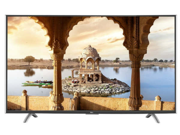 3% off on TCL 109.22 cm (43 inches) L43P1US 4K Ultra HD Smart LED
