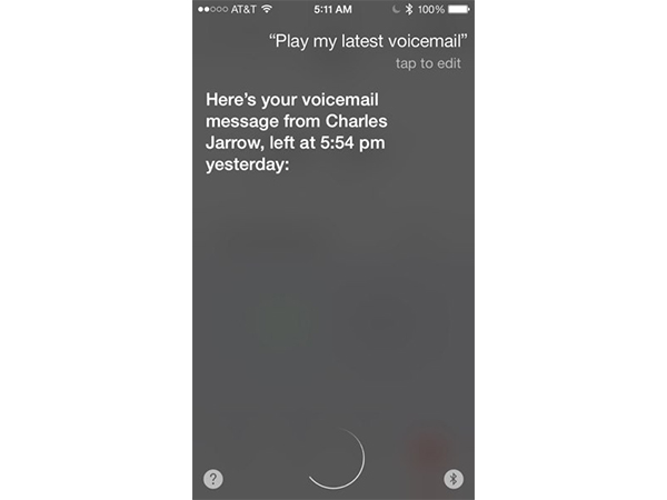 Play Voicemail