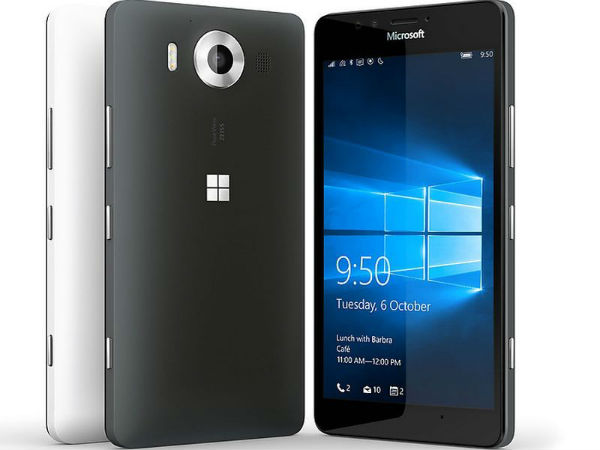 Microsoft Lumia 950 Dual SIM (20MP PureView camera)