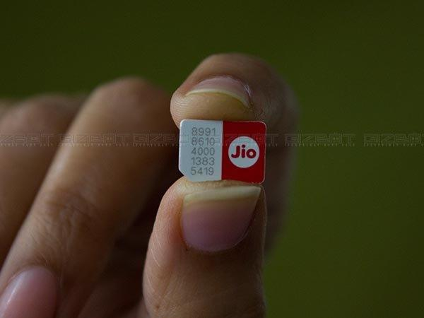 Got Jio SIM and order SMS