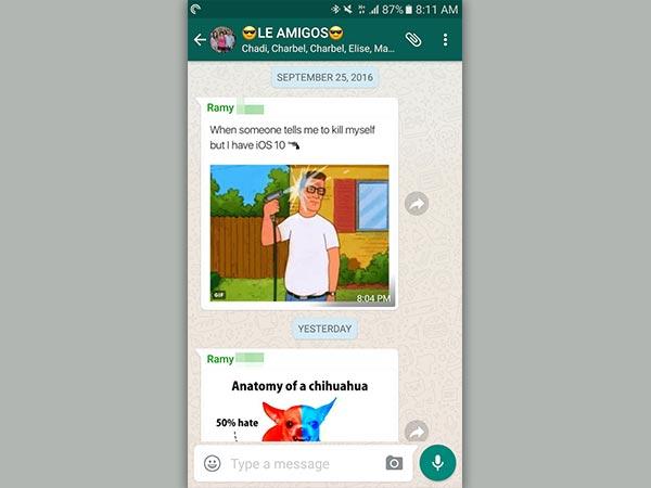 WhatsApp Beta Get Public Group Invite Link, Quick Media Forward