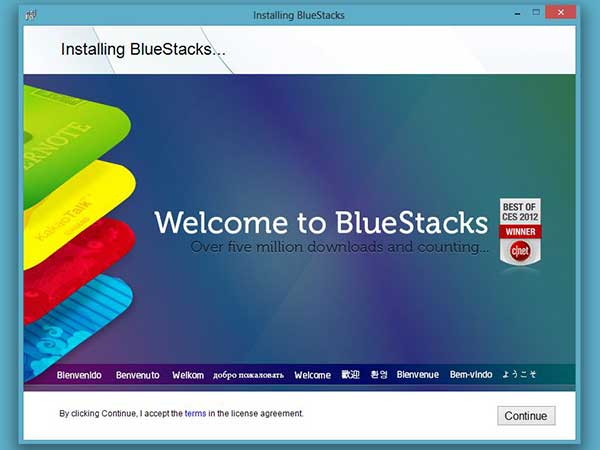 Install Bluestacks Android Emulator
