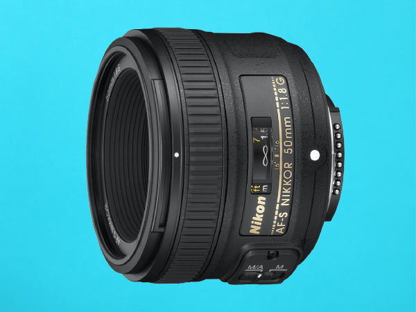 Nikon AF-S Nikkor 50mm f/1.8G Prime Lens for Nikon DSLR Camera