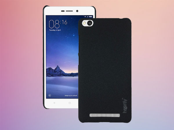 Heartly Premium SandStone Matte Hard Shell Frosted Ultra Thin Bumper Back Case Cover For Xiaomi Redmi 3S