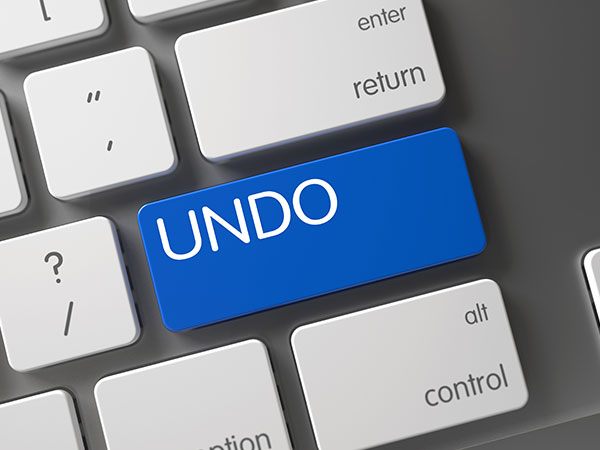 UNDO an Email Message