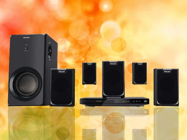 Philips HTD2520 Home Theater System