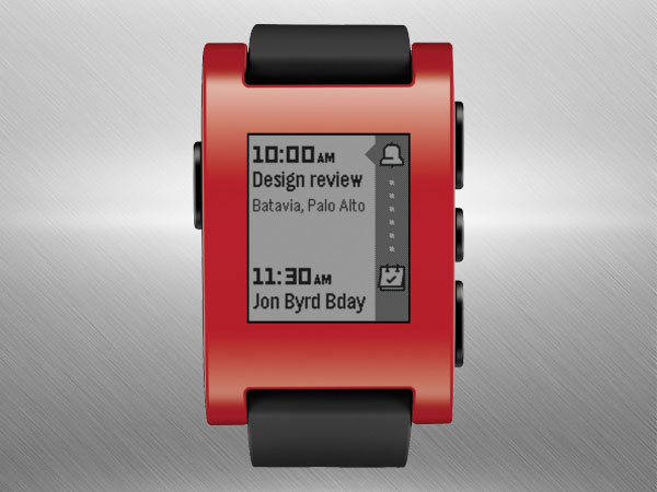 Pebble Technology Corp Classic 301RD Smartwatch (Red)