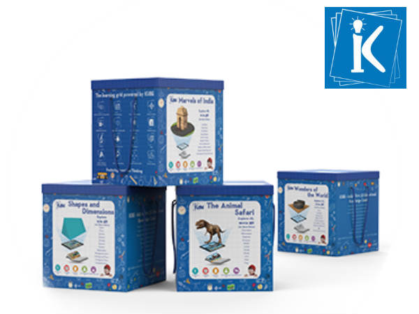 KOMPANIONS launches India's first 3D educational gamebox