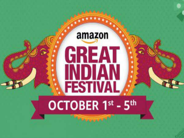 Amazon Great Indian Festival Sale Offers up to 80% Discount