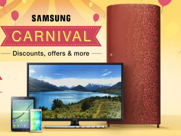 Amazon Samsung Carnival Festival: Top 10 Deals Up for Grab!