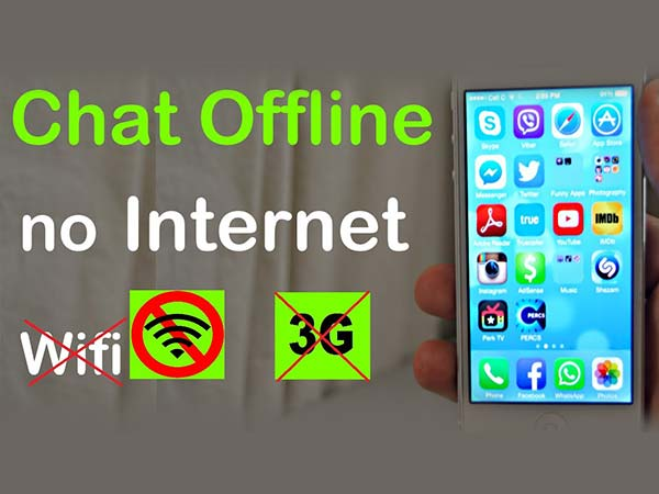No Internet? Well, Here's a Trick to Chat Without Internet