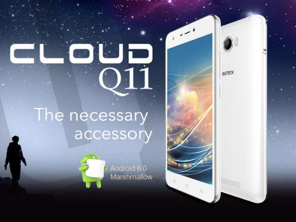Intex launches affordable smartphone 'Cloud Q11' at Rs 4,699