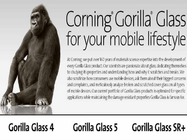 Corning Gorilla Glass SR+ Unveiled to Make Wearable Devices Tougher