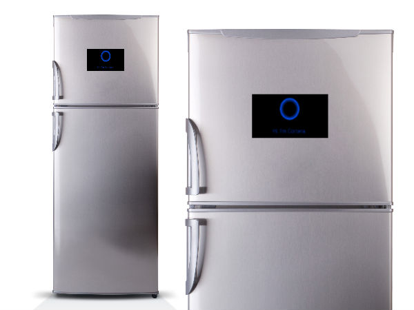 Microsoft's Cortana in refrigerators to help intelligent management