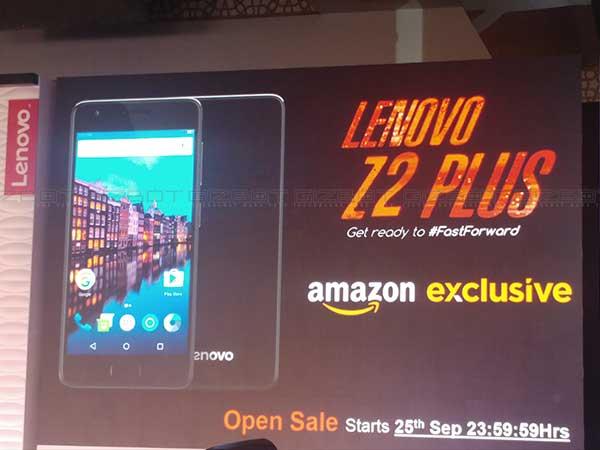 Lenovo Z2 Plus First Impressions