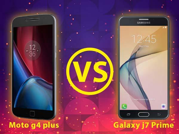Samsung Galaxy J7 Prime vs Motorola Moto G4 Plus