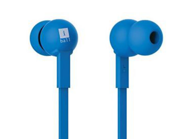 iBall Colorstick Earphones Launched at Just Rs. 675