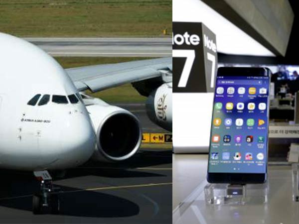 Samsung Galaxy Note 7 banned on Indian Airlines