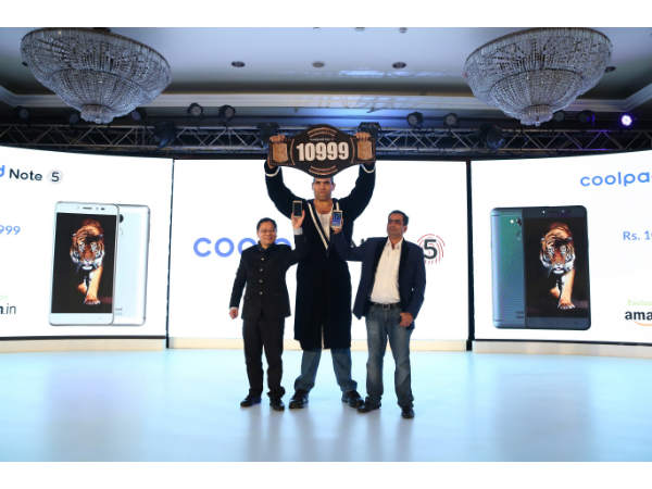 Coolpad Note 5 Launched Today with Reliance Jio 4G Support