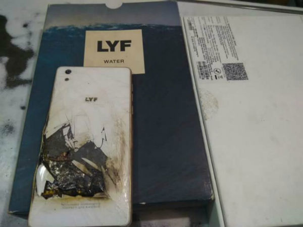 After Reliance Jio, LYF Water 1 Explosion Creates News