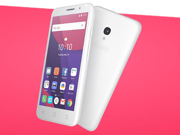 Alcatel OneTouch PIXI 4 with 4G Support Launched in India at Rs. 4,999