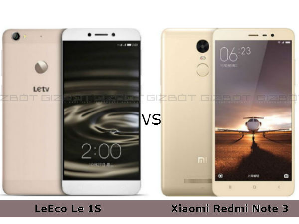Should You Buy a Xiaomi Redmi Note 3 or LeEco Le 1s?