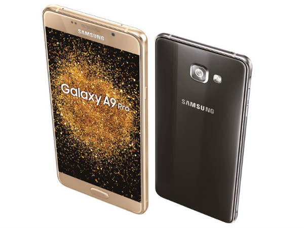 Samsung Galaxy A9 Pro with 5,000 mAh Battery Launched at Rs. 32,490
